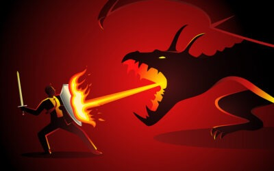 How to Stay Positive and Slay the Negative Dragons in Challenging Times