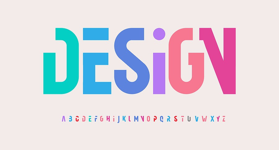All About Fonts and Colors When Designing Online – For Digital and Print Distribution